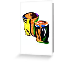 coffee cup's Greeting Card