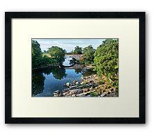 Stanley Bridge Framed Print