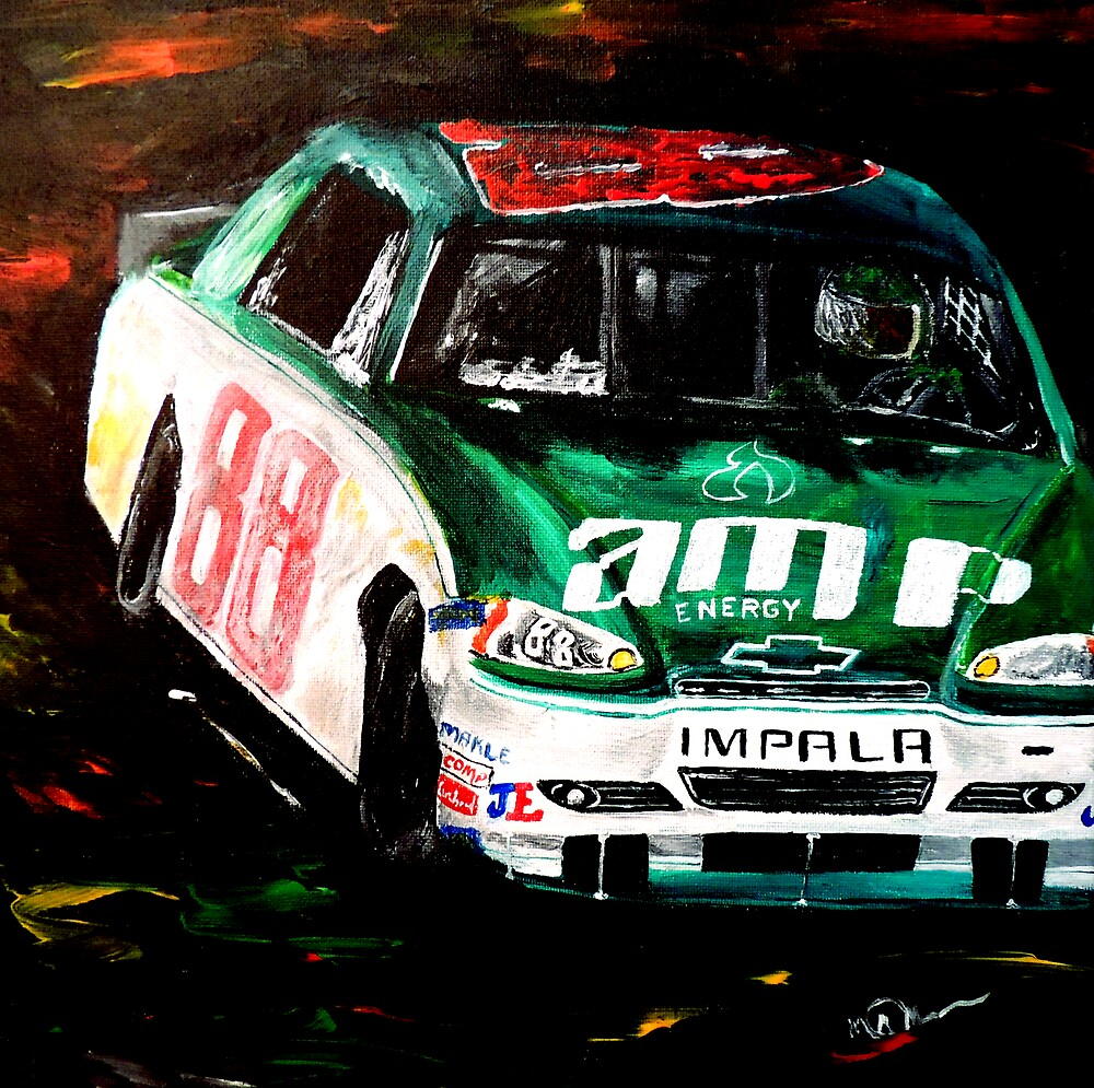 Driven - Dale Earnhardt Jr by markmoore