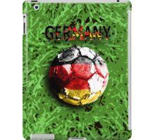 Old football (germany) iPad Case/Skin