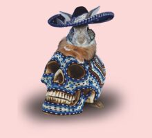 Day Of The Dead Bunny Rabbit One Piece - Long Sleeve