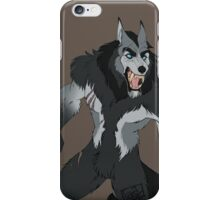 Snarly werewolf iPhone Case/Skin