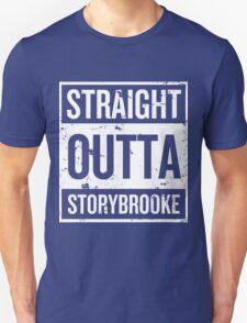Straight Outta Storybrooke - White Words T-Shirt