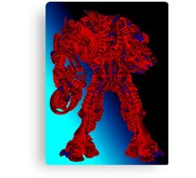 Red Dreadnought  Canvas Print