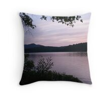 ADK Sunset I Throw Pillow