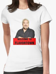 Guy Fieri - Flavortown Womens Fitted T-Shirt