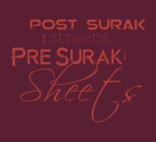 pre surak in the sheets orange by sabriiel