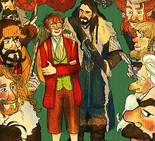 The Company of Thorin Oakenshield by ewelock