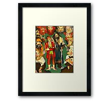 The Company of Thorin Oakenshield Framed Print