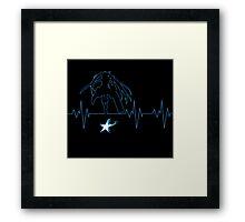 Heartbeat BRS Framed Print