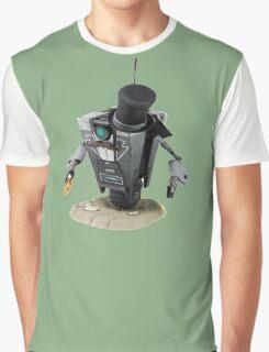Fancy Butler Claptrap bot Graphic T-Shirt
