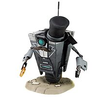 Fancy Butler Claptrap bot Photographic Print