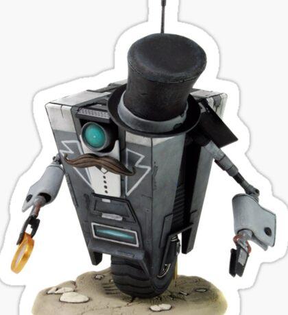 Fancy Butler Claptrap bot Sticker