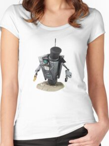 Fancy Butler Claptrap bot Women's Fitted Scoop T-Shirt