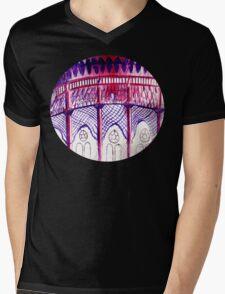 Pavillion at Night Mens V-Neck T-Shirt