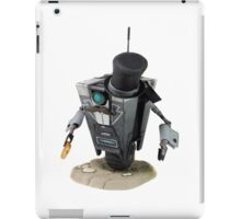 Fancy Butler Claptrap bot iPad Case/Skin