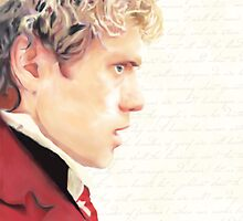 Movie!Enjolras Poster, Prints, and Cards by jehanprouvaires