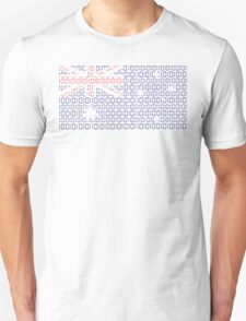 digital Flag (Australia) Unisex T-Shirt
