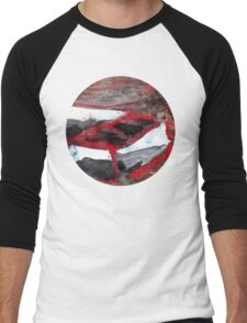 red match box Men's Baseball ¾ T-Shirt