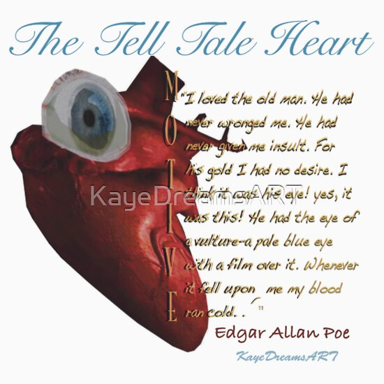 argumentative essay the tell tale heart The tell tale heart essay the tell tale heart essay the narrators obsessions include his obsessions with his own sanity, the old mans evil eye.