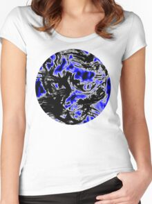night cat Women's Fitted Scoop T-Shirt