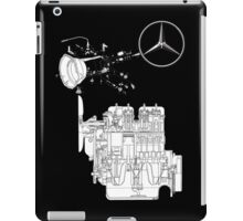 Mercedes Benz Engine Typ 170D iPad Case/Skin