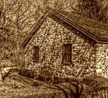 Smalleytown Schoolhouse, East Jersey Olde Towne Village by Jane Neill-Hancock