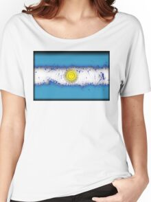 in to the sky, Argentina Women's Relaxed Fit T-Shirt