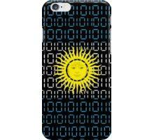 digital Flag Argentina iPhone Case/Skin