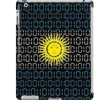 digital Flag Argentina iPad Case/Skin