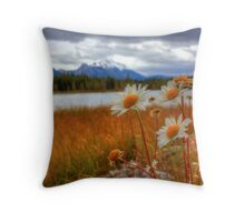 Wild about Daisy Throw Pillow