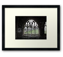Chichester Cathedral Window Framed Print