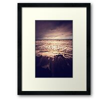 The Sea - France Framed Print
