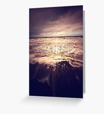 The Sea - France Greeting Card