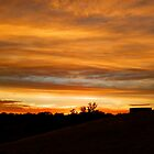 Adelaide Hills Sunset, South Australia by RedNomadOZ