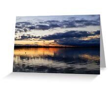 Edithburgh Sunset, South Australia Greeting Card