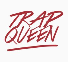 Trap Queen red - ALL PRODUCTS AVAILABLE Kids Tee
