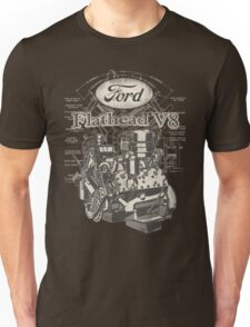 Flathead ford V8 Unisex T-Shirt