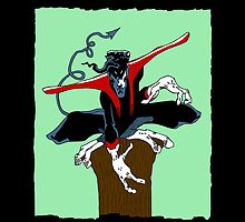 Nightcrawler: Old Sketch Reborn 3 (iPad Case) by William Brennan