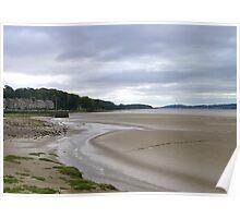 Arnside Beach. Poster