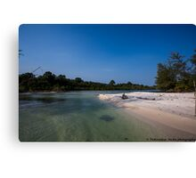 koh rong beach, combodia - 10 Canvas Print