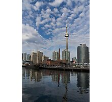 Reflecting on Toronto and Harbourfront Photographic Print