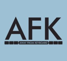 AFK - away from keboard Kids Clothes