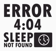 Error 4:04 - Sleep not found by nektarinchen