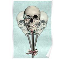 Eternally Sweet Skull Lollipops  Poster