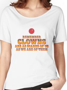 Scared Of Clowns Women's Relaxed Fit T-Shirt
