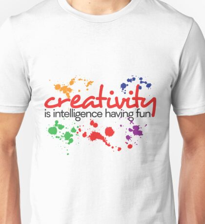 Creativity Unisex T-Shirt