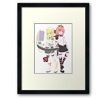 ARCADE ALICE Framed Print