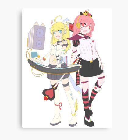 ARCADE ALICE Canvas Print