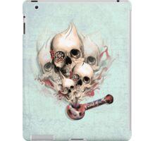 Faded Youth Smoke skulls. iPad Case/Skin